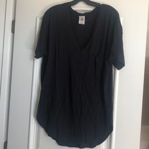 We the Free Black Oversized Top